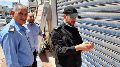 مفتشو مركز الرقابة ورجال الحرس البلدي يقفلون صيدلية في قرقارش