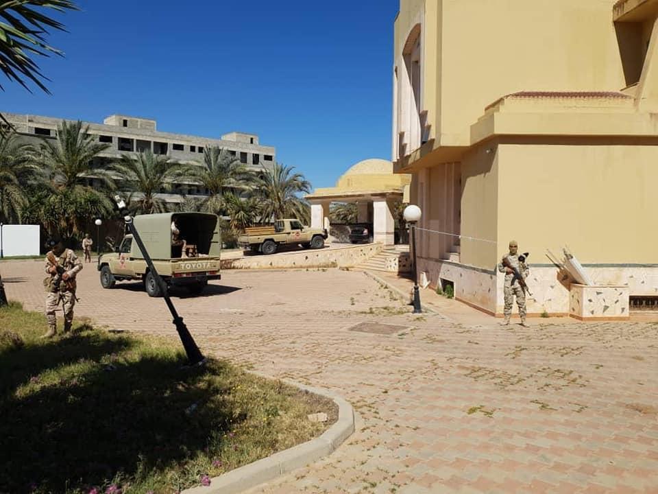 اللواء 444 قتال يخلي 6 معسكرات أخرى في الفرناج وخلة بن عون وطريق الشوك في طرابلس