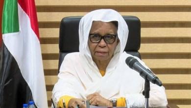 عضو مجلس السيادة الانتقالي الحاكم في السودان عائشة موسى