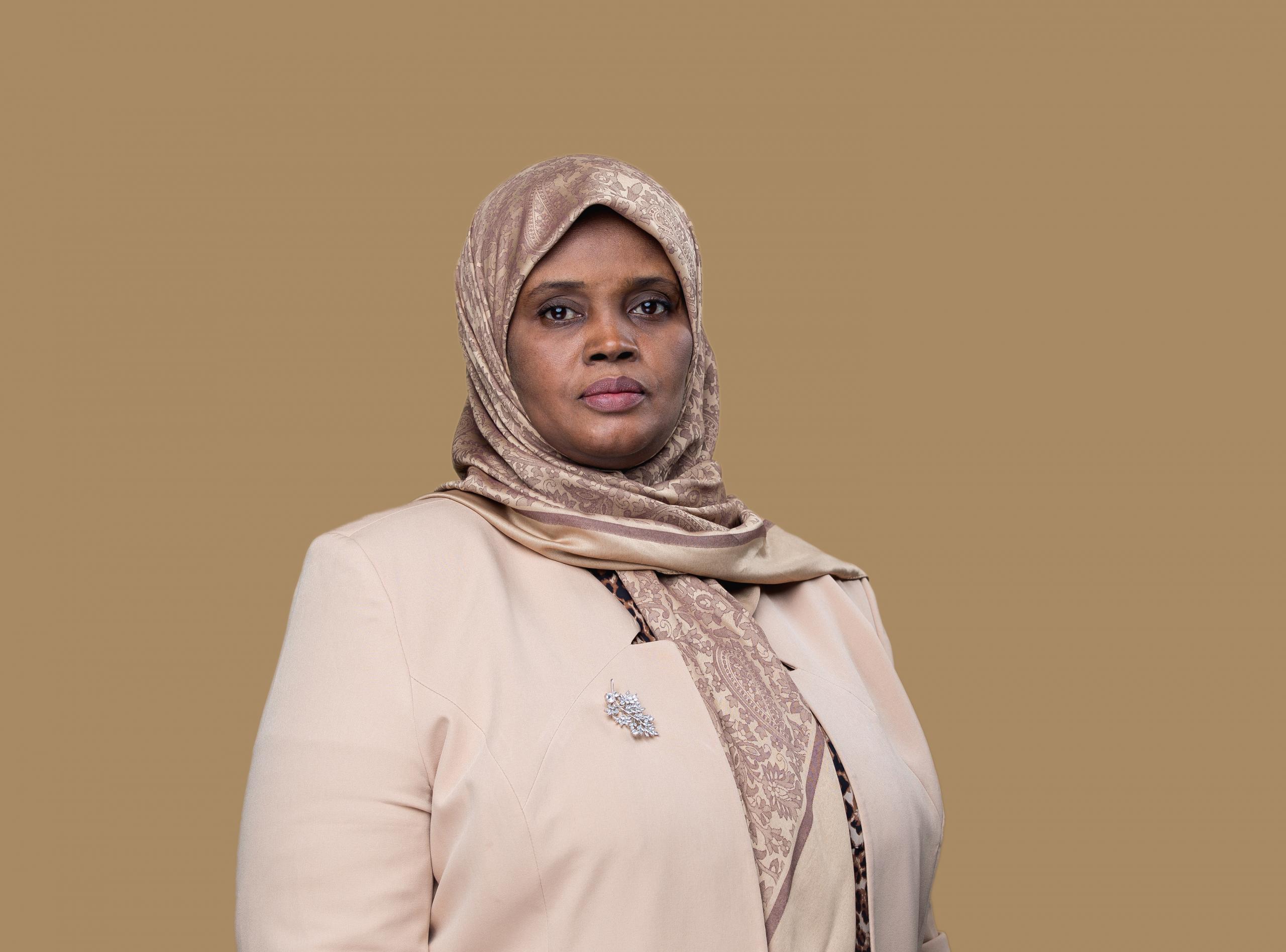وزيرة الثقافة والتنمية المعرفية مبروكة توغي عثمان