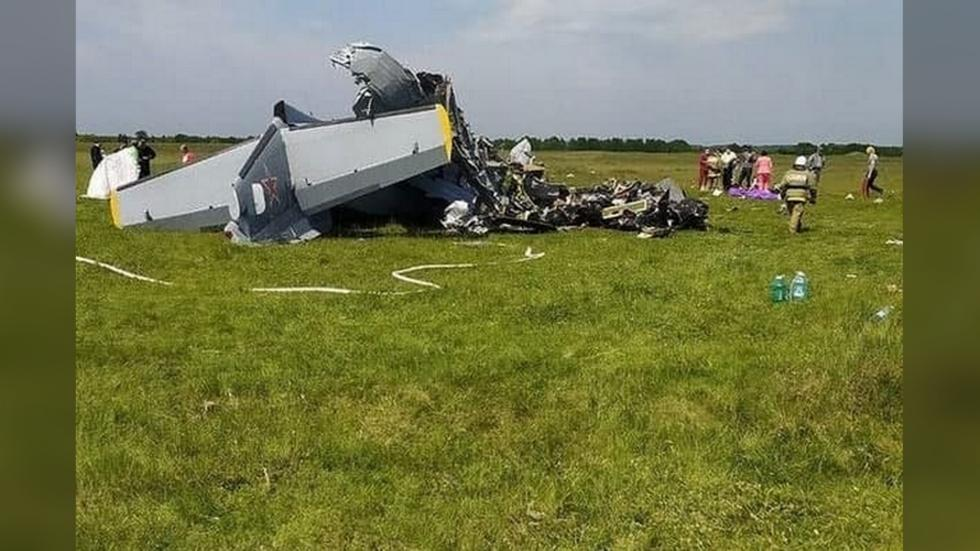 تحطم طائرة جنوب غرب سيبيريا