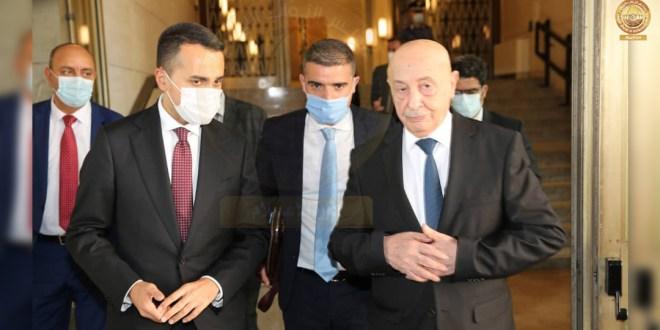 عقيلة صالح يدعو لإجراء الانتخابات بموعدها وإخراج المرتزقة