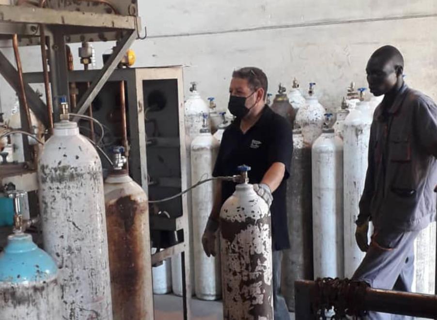 """الليبية للحديد والصلب: معدلات إنتاج الأكسجين """"الطبي"""" مستقرة 4"""