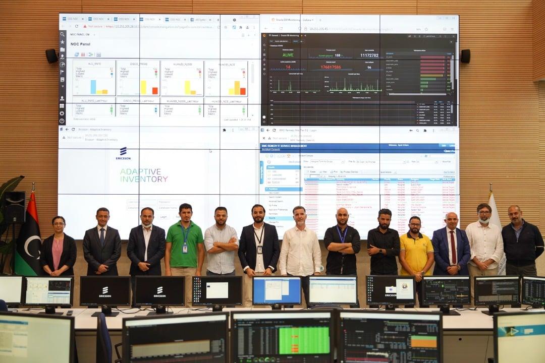 ليبيا للاتصالات تدشن أنظمة تشغيلية بالشراكة مع إريكسون