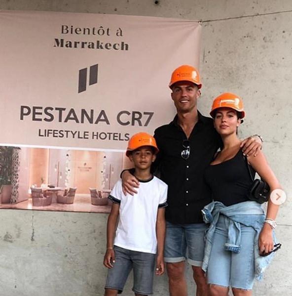 النجم البرتغالي كريستيانو رونالدو