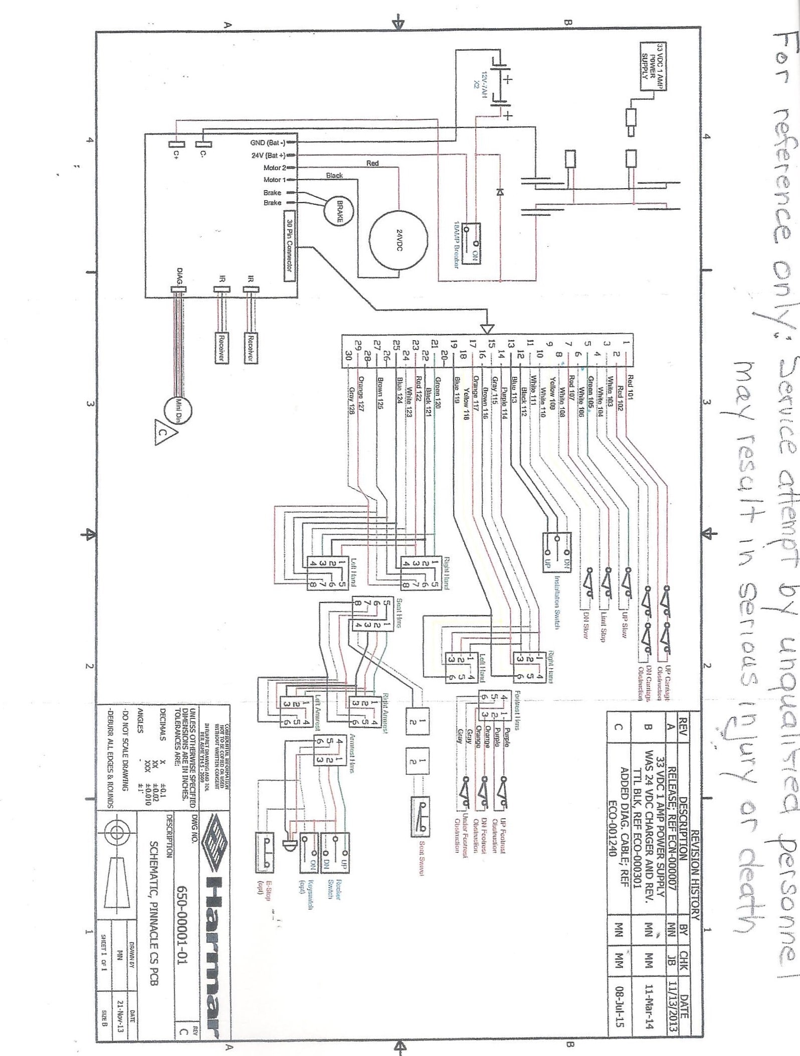 Liberty Stair Lift Wiring Diagram