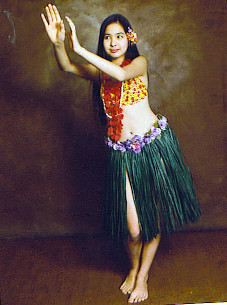 The young dancer...