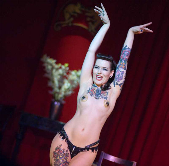 """""""I live inside my skin every day – for me my tattoos are entirely normal. For others, they're strange and intriguing..."""" (Beatrix von Bourbon: Burlesque and Tattoos)"""