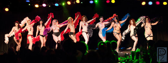 Stripper's Holiday Group Finale.  ©PEZ Photo