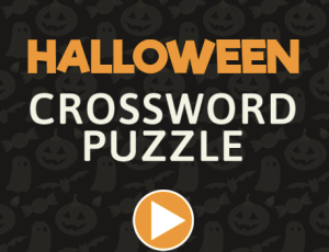 Halloween Crossword Puzzle ABCYA Game