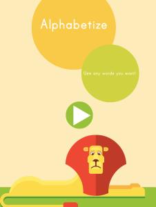 Alphabetize ABCYA Game