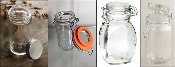 Spice Jars Collage