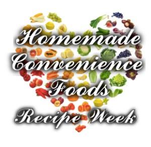 Homemade Conv Foods Recipe Week