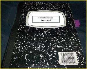 Dehydrator Journal