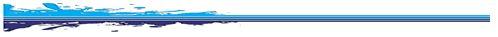 Line separator-blue splash