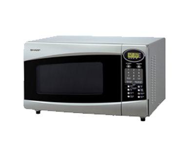 sharp r360js 220 volt family size microwave oven
