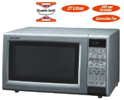 sharp r 888 220 volt double grill convection microwave oven discontinued
