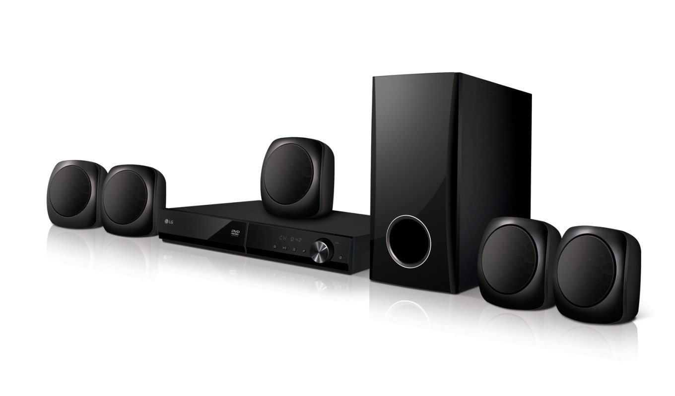 LG LHD-427 5.1 Channel DVD Home Theatre System for 110-240 Volts