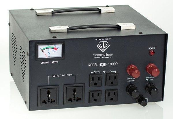 10,000 Watt Diamond Series Voltage Transformer with Regulator