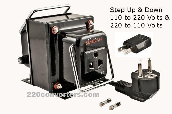 110 Volt 220 Adapter