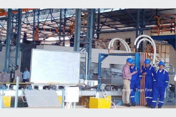 *Togo First* : Togo : l'usine de production du fer Steel Cube Togo veut créer 1000 emplois