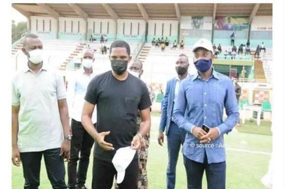 *Actu Togo* : Togo/Football : Samuel Eto'o galvanise Asko de kara et les Anges de Notse