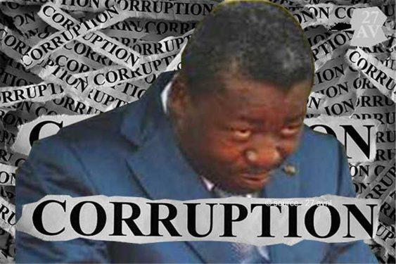 *27 avril* : Le Togo en pôle position dans les pays les plus corrompus au monde selon Transparency international