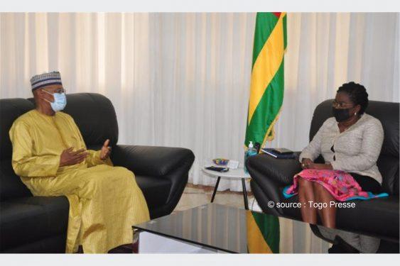 *Togo Presse* : Le représentant spécial des Nations Unies pour l'Afrique de l'ouest Dr Mohamed Ibn Chambas chez le Premier ministre