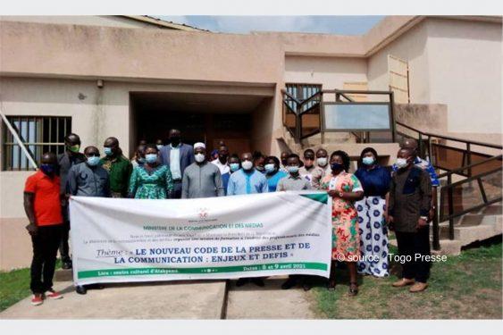 *Togo Presse* : Les professionnels des médias s'approprient les innovations apportées au nouveau Code de la presse à Atakpamé