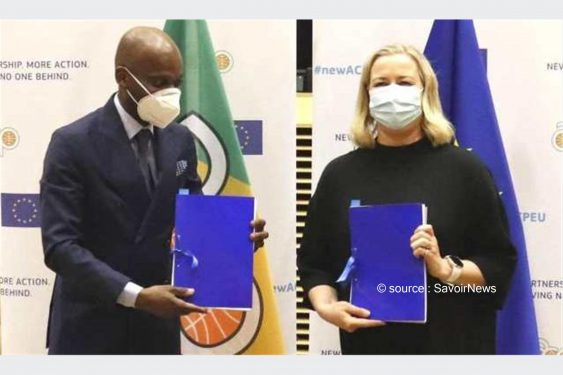 *Savoir News* : Le nouvel accord de coopération entre les États d'Afrique, des Caraïbes et des pacifiques et l'Union européenne paraphé à Bruxelles