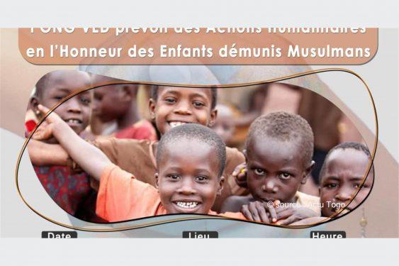 *Actu Togo* : Togo/Humanitaire : VED- Togo lance un projet à l'endroit des enfants démunis