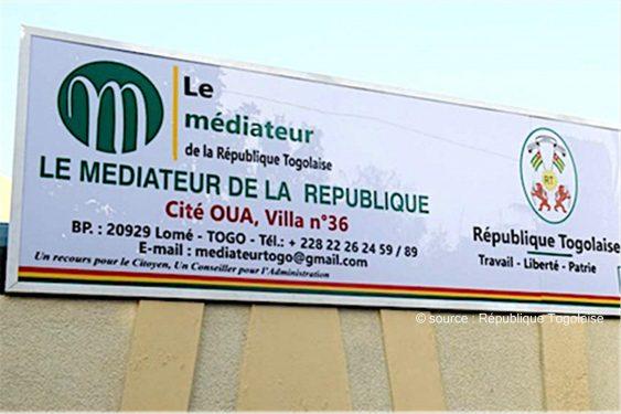 *République Togolaise* : Le Gouvernement complète l'organisation administrative des services du Médiateur de la République