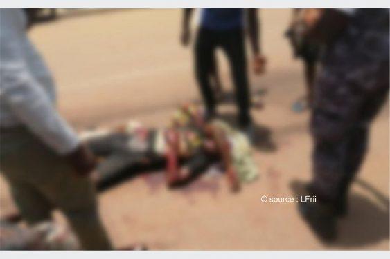 *L-Frii* : Togo : grave accident de circulation à Lomé ; un militaire impliqué