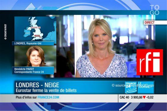 *Republic Of Togo* : RFI et France 24 renforcent leur audience