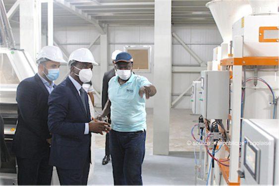 *République Togolaise* : La Société des moulins modernes du Togo a démarré ses activités