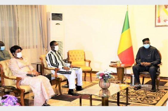 *Savoir News* : Au Mali : Mme Tsègan reçue par le président de la transition