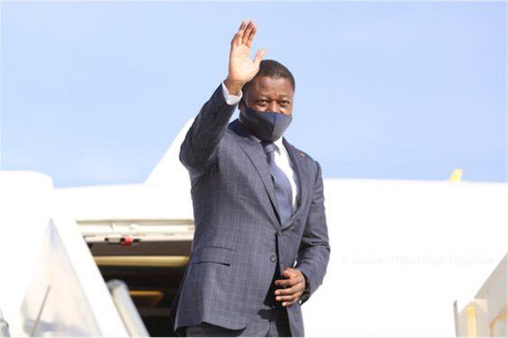 *République Togolaise* : Le Chef de l'Etat au Niger pour l'investiture de Mohamed Bazoum
