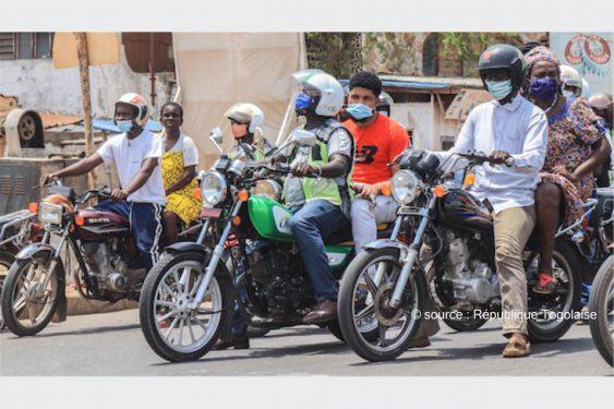 *République Togolaise* : Le ministre des transports invite les conducteurs routiers à se faire vacciner