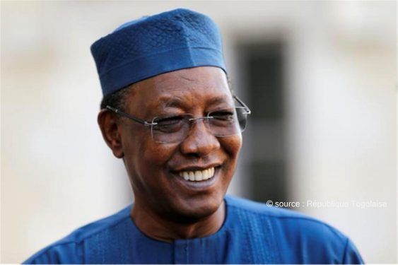 """*République Togolaise* : Décès d'Idriss Deby Itno : le Togo présente ses condoléances  et salue un """"Homme d'Etat"""""""