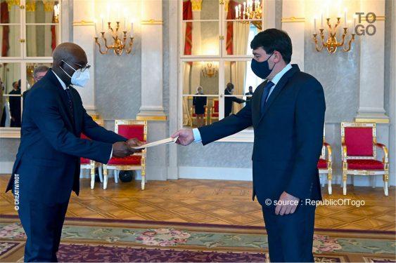 *Republic Of Togo* : Nouvel ambassadeur à Budapest