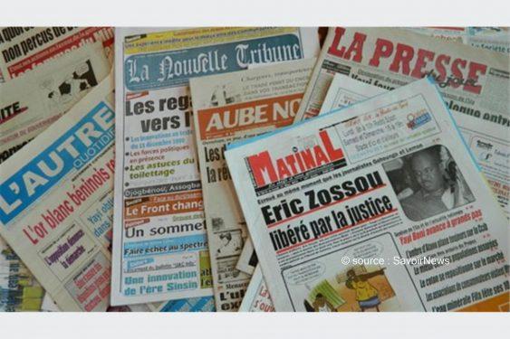 *Savoir News* : Voici les grands titres du quotidien national (La Nation) et des journaux privés en kiosques ce lundi 3 Mai 2021 au Bénin