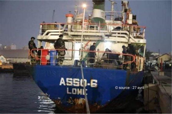 *27 avril* : Encore une histoire de Trafic de Drogue impliquant un navire battant pavillon Togolais !