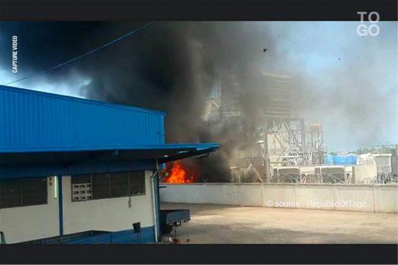 *Republic Of Togo* : Incendie en zone portuaire