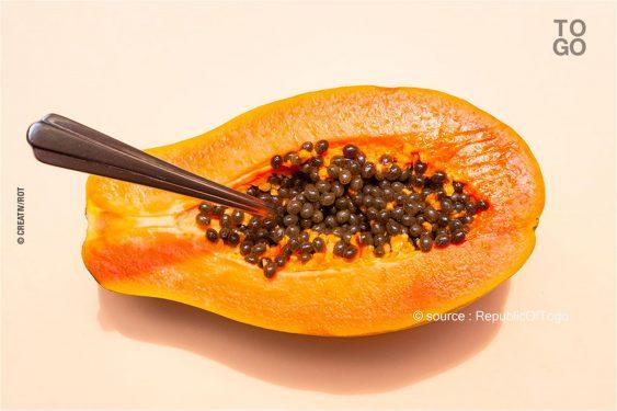 *Republic Of Togo* : Mangez de la papaye