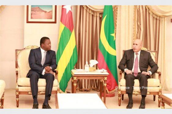 *Togo Presse* : Nouakchott et Lomé renforcent leur axe de coopération face aux défis de l'heure
