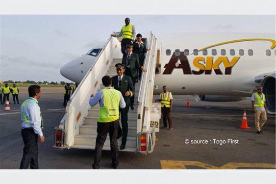 *Togo First* : Togo : Signature d'un partenariat entre Asky Airlines et le ministère togolais des sports