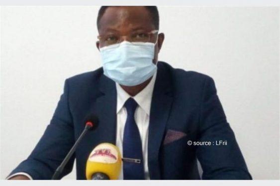 """*L-Frii* : Togo / Col Mohaman Djibril : """"La pente des chiffres positifs continue de descendre, mais…"""""""