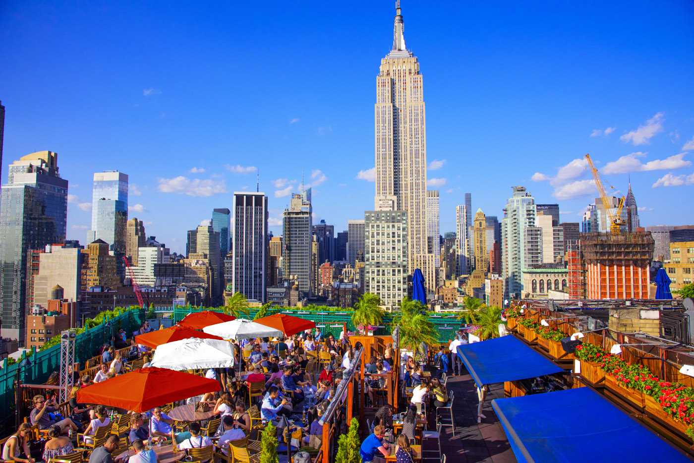 Venue - Rooftop Bar NYC - New York's largest indoor and outdoor bar