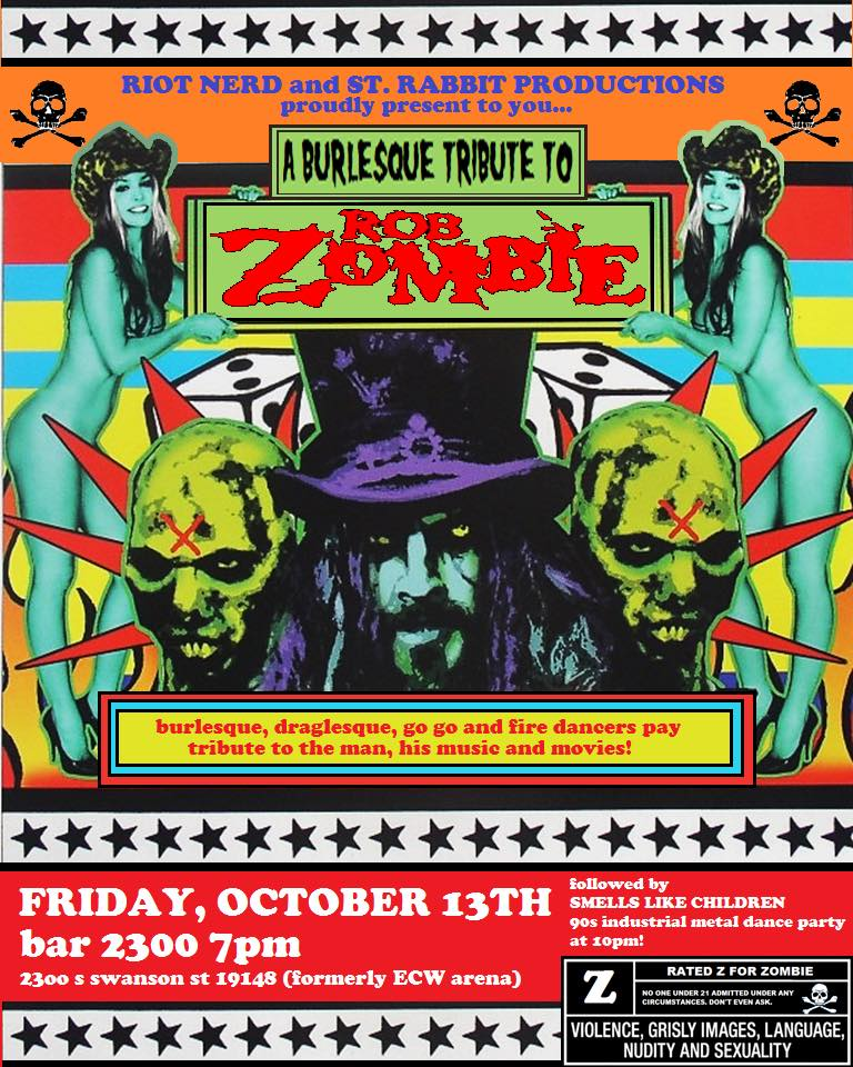 Burlesque Tribute To Rob Zombie 2300 Arena Bar2300