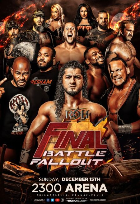Ring Of Honor presents Final Battle Fallout - December 15th at 6PM